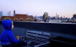 Ausblick von der Dachterasse genießen morgens um 6.30 Uhr
