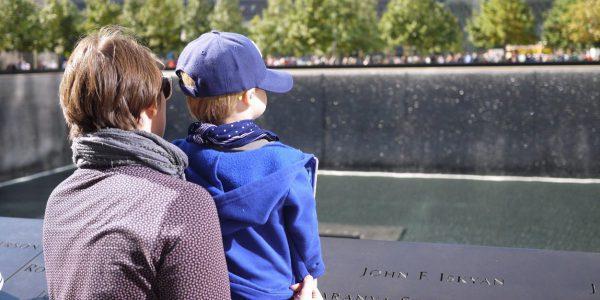 Am 9/11 Memorial Ground Zero