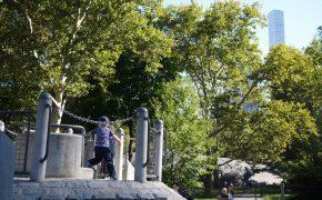 Heckscher Spielplatz im Central Park: Im Sommer inkl. Wasserspielplatz