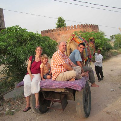 Indien mit Kind
