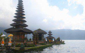 Der meistfotografierte Tempel Balis: Der Pura Ulun Danau Bratan