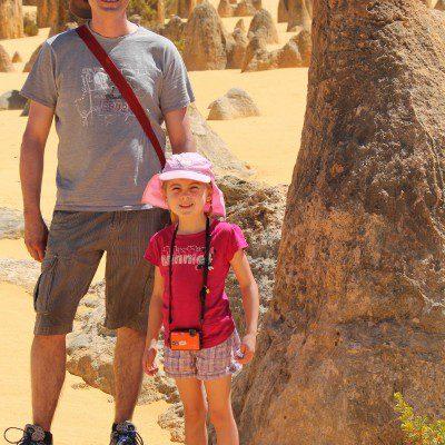 Australien mit Kind