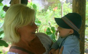 Momme und unsere australische Mitwanderin Judy: Liebe auf den ersten Blick!