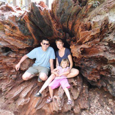 Familie in Australien
