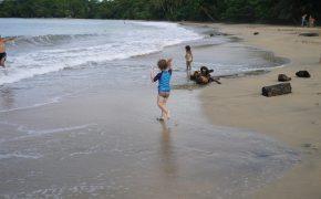 Fast menschenleer - Unser Strand