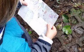 Monteverde Cloud Forrest Reserve - Momme prüft, ob der Weg noch stimmt