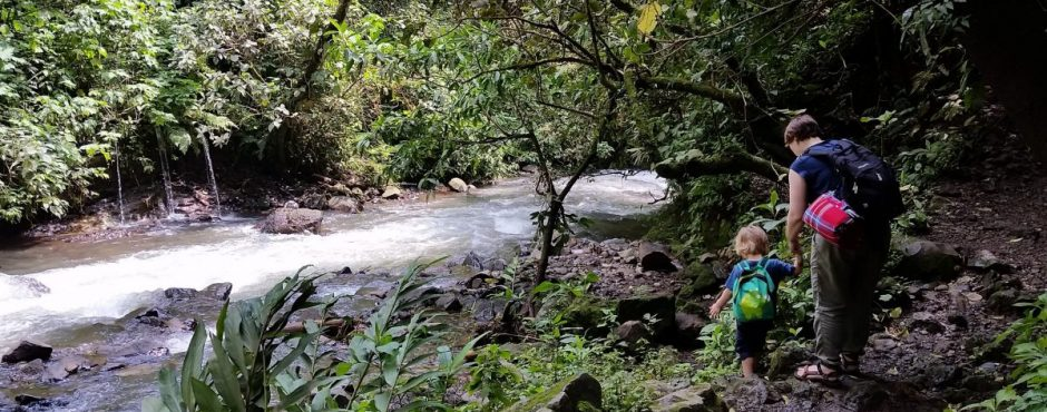 Wanderung zum Wasserfall Los Chorros (1)