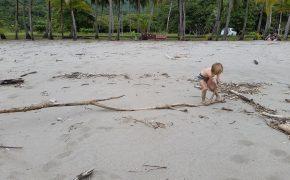 Am Strand gibt es immer was zu tun