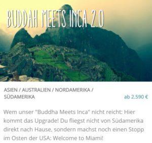 Buddha Meets Inca 2.0