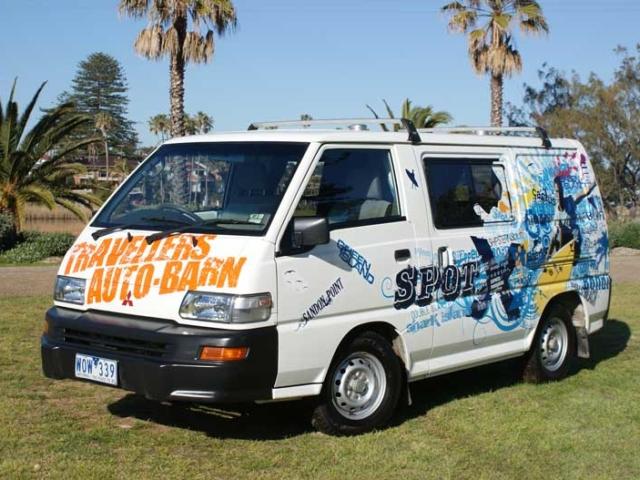 Travellers Autobarn Budgie Van Camper