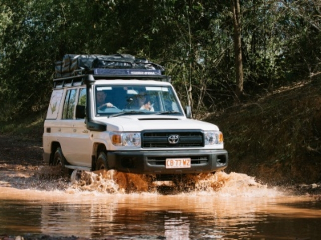Britz 4WD Safari Camper
