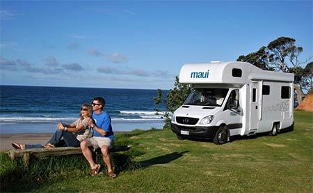 Maui Platinum Beach Camper