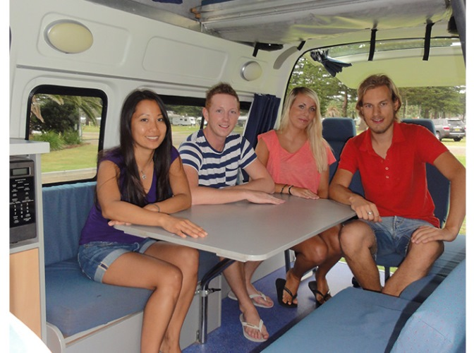 Travellers Autobarn Hi5 Camper