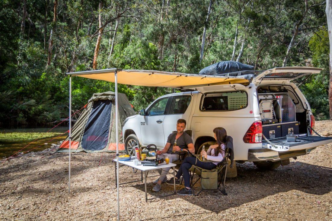 Britz 4WD Outback Camper