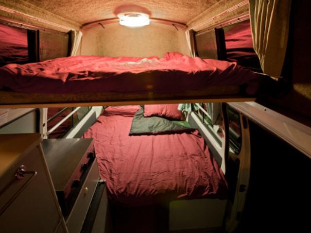 Wendekreisen Budget 2+1 Camper