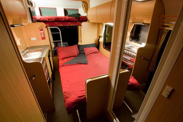 Wendekreisen Budget 6 Bett Camper