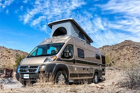 Best Time RV L21 Hymer Aktiv 2.0 Loft Wohnmobil mieten USA