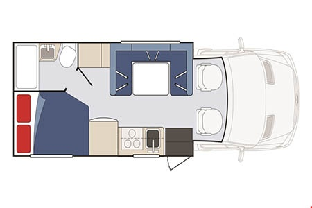 Star RV Taurus C22-25 Wohnmobil mieten