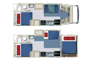 Star RV Tucana C25-27 Wohnmobil mieten