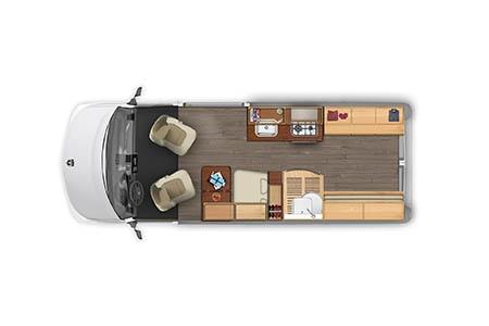 Best Time RV L21 Hymer Aktiv 2.0 Loft Wohnmobil mieten