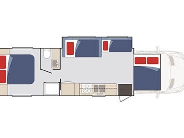 Apollo US Wanderer Wohnmobil mieten