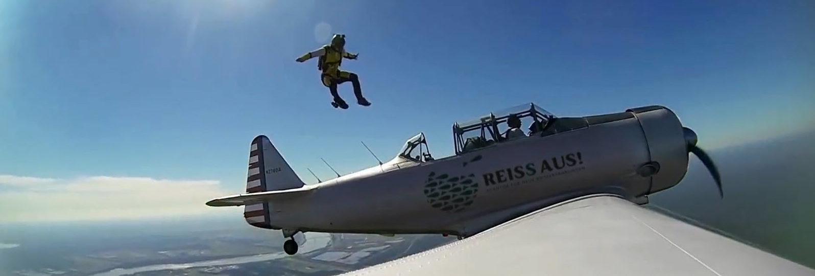 Skydiving mit REISS AUS